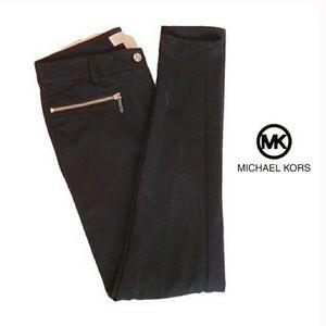 Michael Kors Black Stretch Skinny pants